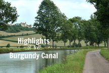 Highlights of the Burgundy Canal / Everything you need to know long-distance walking along the Burgundy Canal in France - where to find accommodation, what you'll see, suggested itineraries and loads of practical tips!