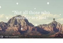 Web design / A collection of beautiful websites.
