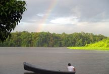 Tortuguero, Costa Rica /  The watery web of Tortuguero's river canals meanders through the remote northern Caribbean of Costa Rica. Click any pin for a local travel guide to plan your trip to Costa Rica.