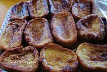 COCINA DE CUARESMA - SEMANA SANTA / Recetas tradicionales y modernas, dulces y saladas, que se preparan en Cuaresma.