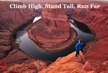 Adventure Outdoors / Climb high, stand tall, run far / by Stonewear Designs
