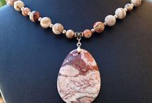 Mexico Lace Agate Beads and Handmade Jewelry