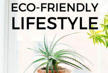 Eco friendly lifestyle