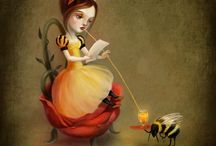 "Bee Fairies / ""Fairly"" certain bees are fairies in disguise!"