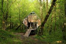 Ağaç Evler / Ağaç-ahşap evler