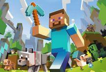 Minecraft / Playing minecraft