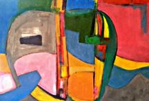 Latter Day Expressionism / Post Fauve, Post - Expressionist a combination of contemporary painting or for want of a better word 'New Ezzzzzzpressionism'