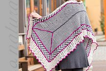 Contrarian Shawls 2 / The second e-book in the popular Contrarian Shawls series contains 10 shawls to knit and crochet in the Fibra Natura family of yarns.