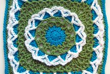 Crochet A Long Patterns / Patterns for crochet a long groups and squares / by Monika Farmer