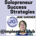 Solopreneur Success Strategies-Press Play Button! / Its about Solopreneur Success, Entrepreneur Success, Strategies to have in your home business  whether it is social media and branding on Get Your Message Out Tuesday or , customers on World Domination Wednesday, mindset on Mindset Monday or Free software productivity, free tools of home business on Freebie Friday and Entrepreneur skills on Jack or Jill of all Trades Thursday- its all about you as Entrepreneur and all you have to do is Listen as it is AUDIO! Press Play! and follow me!