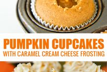 Fall: Embrace the pumpkin love / Recipes with pumpkin, either savoury or sweet or even drinks, pumpkin goes with absolutely anything!