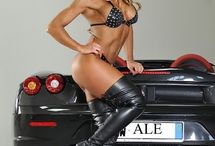 models and cars / sexy girls and sexy cars