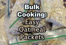 Kitchen Orgianizing| Meal Planning& Bulk Cooking