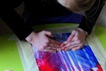 Sense-able Science / Messy free art
