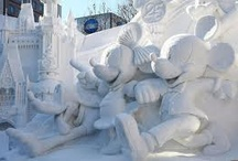 SNOW & ICE SCULPTURES / by Carolyn Temple
