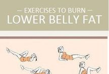 Flat lower tummy