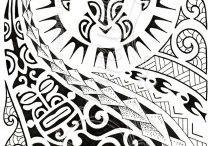 polynesian tattoo inspirasjon