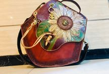 Leather bag by rustic
