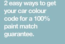 How to find your car colour code / There are 2 easy ways to get your car colour-code to get a 100% colour match guarantee. Take a look below.