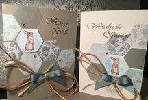 Kartki wielkanocne Easter  card hand made / Easter cards