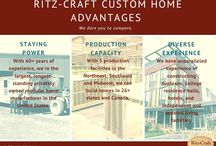 Ritz-Craft Custom Home Advantages / The advantages of choosing a custom modular home and a custom home builder with more than 60 years of experience.
