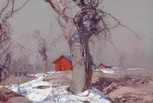 STEPAN F. KOLESNIKOV 1879 - 1955 / pittore russo