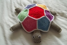 crochet toys and kids / by Nicole Hamman