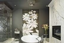 Bathrooms in Marble