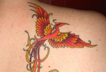 Phoenix Tattoos / by The Body is a Canvas