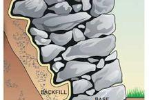kamenná zed