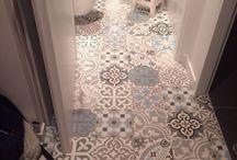 podlaha chodba, kuchyna,wc