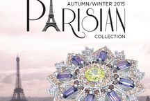 Collection: Autumn/ Winter 2015 / A striking limited edition collection of exquisite jewellery designs inspired by the most influential Parisian icons; Artists, Dancers and Designers.  Secrets limited edition Parisian Collection launching in stores and online Thursday February 26, 2015. / by Secrets Shhh