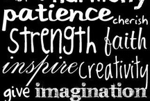 Inspiring Words / Sometimes you need a boost / by Dawn Maestro-Blom