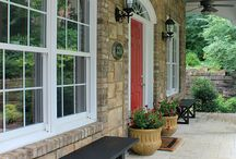 Front porch ideas / by Julie Hicks