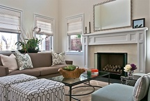 Living Rooms & Living Room Decor / Living rooms, their living room decor and living room DIY.