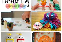Monster crafts and activities