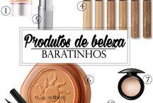 Produtos de beleza,maquiagem...
