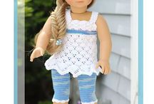 "18"" Doll Crochet Clothes / by Brittney Ragon"
