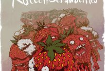 Concours fraise futuriste/apocalyptique / Oeuvres gagnantes du concours de dessin/graphisme en partenariat avec Le Géant des Beaux-Arts, LaFraise et Spreadshirt