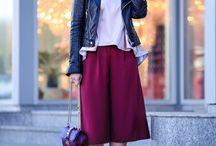 Culottes. Ideas. How to wear / С чем носить кюлоты?