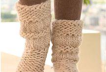 Pletené ponozky