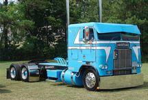 Freight liner trucks