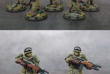 Dust Tactics Wargame