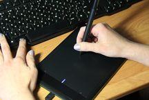 Освоение графического планшета / Учимся работать с графическим планшетом: рисовать, ретушировать фотографии в Photoshop!
