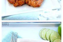 Salmon avacado grill