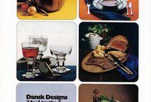 Vintage Dansk Ads