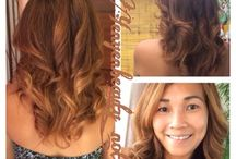 Hair color / Balayage ombre hair