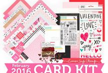 Cards: SSS February 2016 / by Cindi Lynch