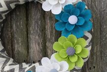 Wreaths / Inspiration for DIY wreaths