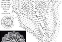 Serwetki na szydełku / Crochet doily tablecloth